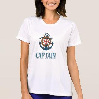 Themenorientierter Entwurf Kapitäns Sailing T-Shirt