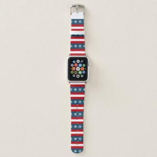 Themenorientierter nautischentwurf apple watch armband