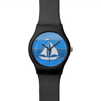 Themenorientierter nautischentwurf armbanduhr
