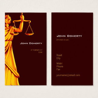 Themis   Rechtsanwalt am Gesetz Visitenkarte