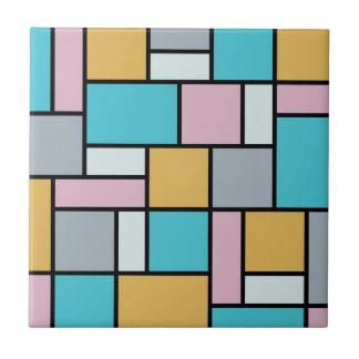 Theo van Doesburg - Zusammensetzung 17 - Mondrian Fliese