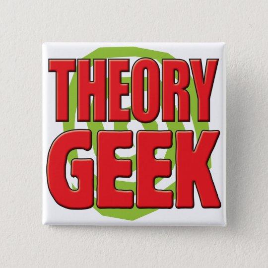 Theorie-Aussenseiter Quadratischer Button 5,1 Cm