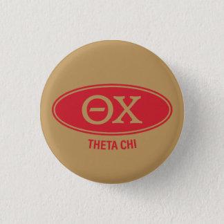 Theta-Chi | Vintag Runder Button 3,2 Cm