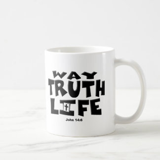 TheWay, Wahrheit, Leben Kaffeetasse