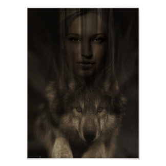 TheWolfGirlFriend Poster