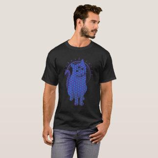 thired mit Augen Katze: Blume des Lebens T-Shirt