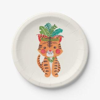 Thomas der kleine Tiger Pappteller 17,8 Cm