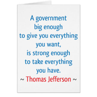 Thomas Jefferson #1 Karte