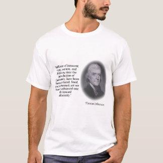 Thomas Jefferson auf Religion 4 T-Shirt