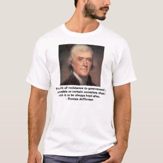 Thomas Jefferson, der Geist des Widerstands zu g… T-Shirt