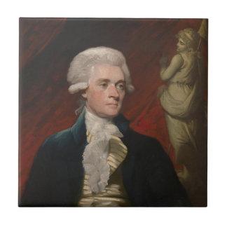Thomas Jefferson durch Mather Brown (1786) Fliese