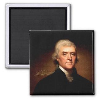 Thomas Jefferson, Gründervater Quadratischer Magnet
