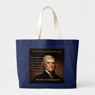 Thomas Jefferson Jumbo Stoffbeutel
