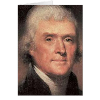 Thomas Jefferson Karte