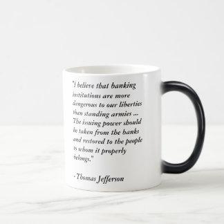 Thomas Jefferson keine bundesstaatliche Verwandlungstasse