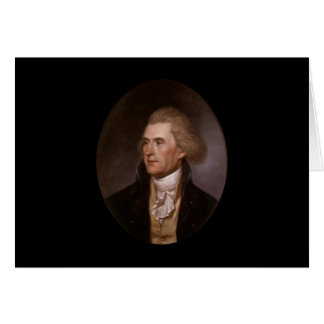 Thomas Jefferson notecards Karte