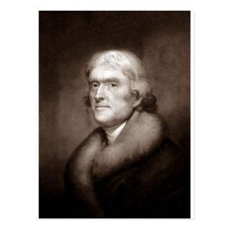 Thomas Jefferson Postkarte