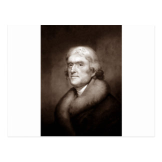 Thomas Jefferson Postkarte