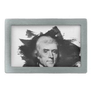 Thomas Jefferson Rechteckige Gürtelschnalle
