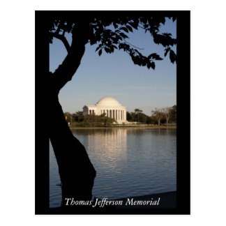 Thomas- Jeffersondenkmal Postkarte