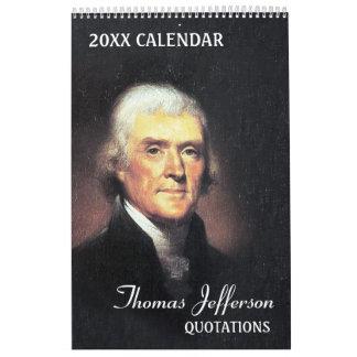 Thomas- Jeffersonzitate Kalender