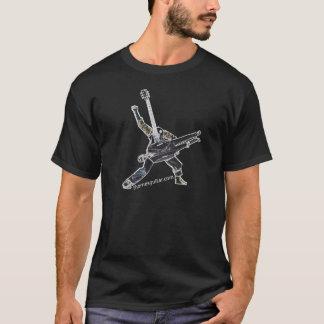 Thornes Gitarren-Power-Positions-Dunkelheit T-Shirt