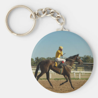Thoroughbred-Rennpferd Keychain Schlüsselanhänger