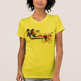 ThoroughbredTexandamen gelber Zyklus-T - Shirt