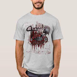 Three-wheeled motorcycle skull T-Shirt