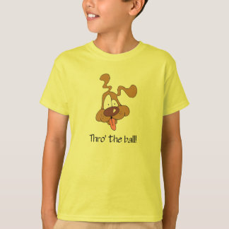 Thro der Ball T-Shirt