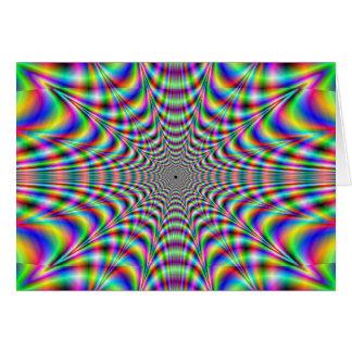throbbing - optische Täuschung Karte