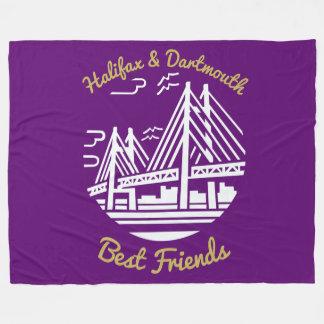 Throw Fleece bester Freunde Halifaxes Dartmouth