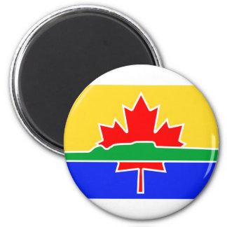 Thunder Bay, Kanada Runder Magnet 5,1 Cm