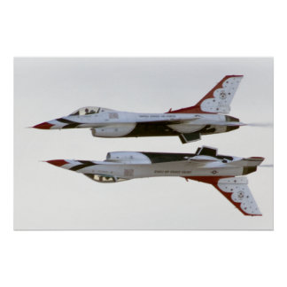 Thunderbirds-Manöver - Spiegel Poster