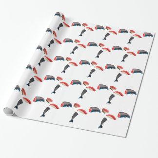 Thunfisch-Sushi Geschenkpapier