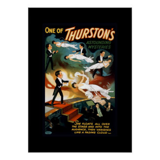 Thurston Magier-Vintages Theater-Plakat Poster