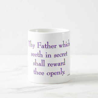 thy Vater, der sieht Kaffeetasse