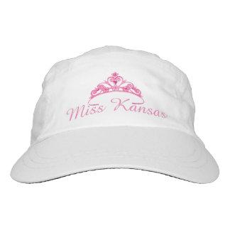 Tiara-Baseballmütze Miss Amerikas rosa Headsweats Kappe