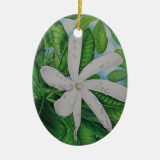 Tiare Tahiti Keramik Ornament