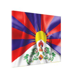 Tibet-Flaggen-Leinwand-Druck Leinwanddruck