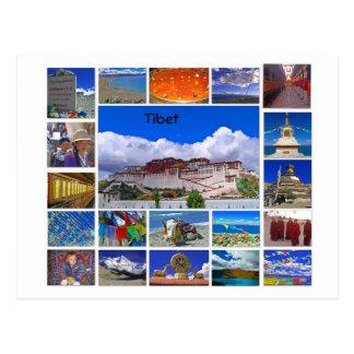 Tibet Multiview Postkarte