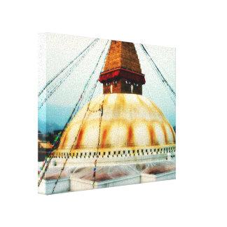 Tibetaner Boudhanath Stupa Buddha Nepal Leinwanddruck