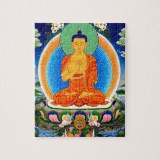 Tibetaner Thangka Prabhutaratna Buddha