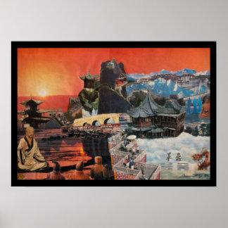 Tibetanische Montage 1984 Poster
