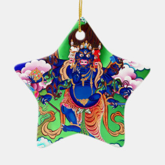 Tibetanischer Buddhismus buddhistisches Thangka Keramik Ornament