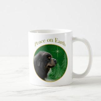 Tibetanischer Mastiff-Frieden Kaffeetasse