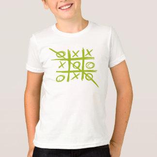 Tic-TAC-Zehe Tris wertlos- und Kreuzspiel T-Shirt