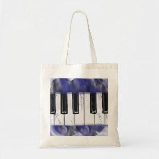 Tickle das Elfenbein-Klavier Tragetasche