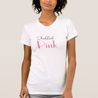 Tickled rosa T - Shirt