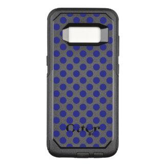 Tiefe blaue Tupfen OtterBox Commuter Samsung Galaxy S8 Hülle